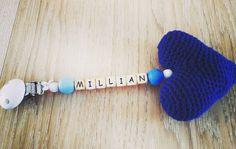 Vognpynt med hekla hjerte Valgfritt navn og farge på hjertet. #instalike #instalove #instapic #instacrochet #hekleglede #heklegal #babyshop #insta_croch #instacro #instafamous #insta_crochet#barnevogn #crochetmadness#baby #crochetmad#crochet_lover #crochetandknit #diy #craft #crafts #trolley #barnevogn #trolleys #babyshower #smokk #pacifierlink by maritas_heklerier