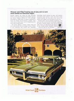 1968 GM Wide-Track  Station Wagon Pontiacs by TreasureTimeCapsule