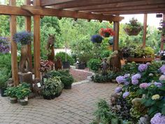 Things are looking very nice around the Garden Center these days. Come on out and take a look around!
