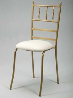 Tiffany chair. Metal frames with upholstered seats. stack-able. www.lpiplastics.co.za