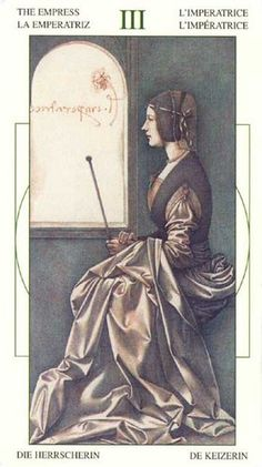The Empress - Da Vinci Tarot