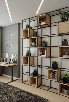 Vintage industrial furniture – Eclectic Home Decor Today Vintage Industrial Furniture, Industrial Loft, Industrial Interiors, Shelf Design, Office Interior Design, Interior Design Simple, Furniture Design, Diy Furniture, Furniture Movers