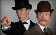 First photo from the Sherlock: The Game Is On 2015 Christmas special