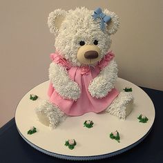 See related links to what you are looking for. Teddy Bear Birthday Cake, Baby Birthday Cakes, Cupcakes, Cupcake Cakes, Teddy Bear Cookies, Animal Cakes, Disney Cakes, Cake Decorating Techniques, Bear Cakes