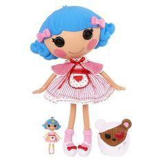Lalaloopsy Rosie Bumps Bruises Large & Mini Doll