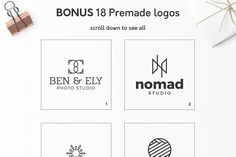 Geometric Logos vol.3 - Logos