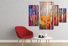 Wat vind jij van dit prachtige natuurplaatje? En in welke ruimte komt dit meerluik schilderij het beste tot zijn recht? Laat het ons weten!
