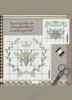 ideas embroidery patterns bee cross stitch for 2019 Cross Stitch Bird, Cross Stitch Samplers, Cross Stitch Animals, Cross Stitch Charts, Cross Stitch Designs, Cross Stitching, Cross Stitch Patterns, Bee Embroidery, Cross Stitch Embroidery