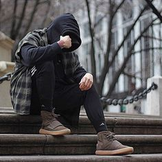 "312 Likes, 9 Comments - Rene Molina (@slimcargos) on Instagram: ""vagabond. . . Hoodie: Pablo Merch Flannel: Zara Sweats: Adidas Shoes: Adidas 750 boost . .…"""