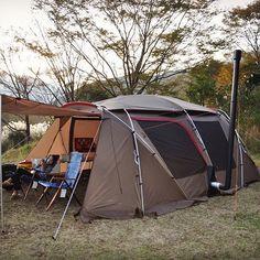 なんとか#幕避け 作るのも間に合って#薪ストーブ であったかキャンプ♪ #camp #camping #camper #キャンプ #snowpeak #スノーピーク#ランドロック #新保製作所 #outingstylejp