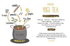 RECETA YOGI TEA - Lusatnam. Ilustración para el alma