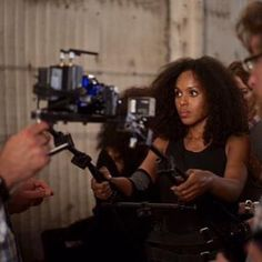 """Instagram photo by doggicamsystems - The Bodymount worn by Kerry Washington on location for the show """"Scandal"""". #cinematography#cinematographer#directorofphotography#setlife#production#bodymount#doggicam#cameraporn#filming#cameradept#cameraman#kerrywashington#scandal#onlocation#onset"""
