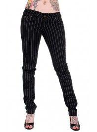 Pinstripe Skinny Jeans 42€/ www.backstreet.fi