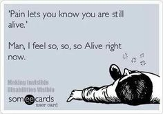 Yeah sure it does   The pain I suffer with often makes me wish I were dead..... That's no life....that's an existence!