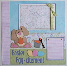 scrapbook+pages+++Easter+Eggcitement12x12+by+gautierdesigns,+$35.00