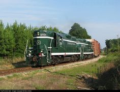 RailPictures.Net Photo: GRLW 3751 Greenville & Western EMD GP9 at Belton, South Carolina by Moss Miller