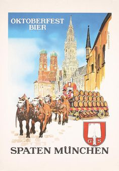 Oktoberfest Bier - Spaten München - 1967 - (E. Taeschner) -
