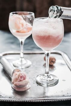 Rosé floats