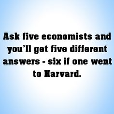 Business Quote on Economists