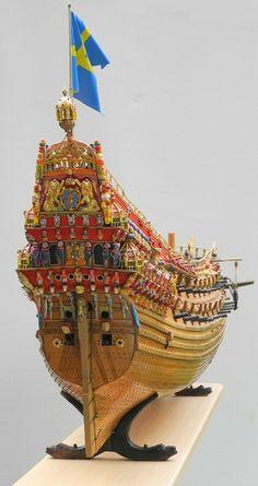 Mitglieder - ihre Schiffe - Regalschiff VASA von 1628 - Arbeitskreis historischer Schiffbau e.V.