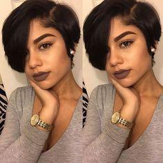 65 Best Short Hairstyles for Black Women in 2019 Short Black Hairstyles Black hairstyles Short WOMEN Black Women Short Hairstyles, Short Sassy Haircuts, Cute Hairstyles For Short Hair, Short Hair Cuts, Straight Hairstyles, Braided Hairstyles, Curly Hair Styles, Natural Hair Styles, Mommy Hairstyles