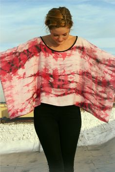 Hand-dyed Easy Top by abiah   Project   Sewing   Dyeing / Shirts, Tanks, & Tops   Kollabora --rectangle