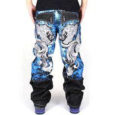 Generic Men's Hip Hop Back Graffiti Print Unwashed Baggy Jeans Denim 30 Black zero quality http://www.amazon.com/dp/B00ELCZR06/ref=cm_sw_r_pi_dp_IJkfub0P678RH