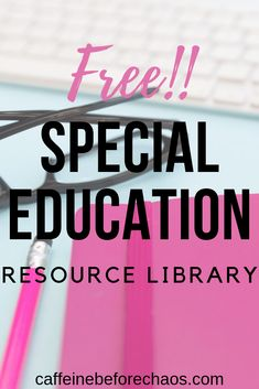 This free resource library for special education teachers gives you access to free materials and tips for your special education classroom. Teacher forms, interest inventories, checklists, working with paraprofessionals and MORE! Teacher Forms, Teacher Blogs, Classroom Teacher, Teacher Resources, Free Teaching Resources, Elementary Teacher, Sight Words, Self Contained Classroom, Teaching Special Education
