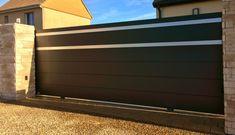 Meilleure vente n°3 : Portail Coulissant sur Rail - Art et Portails Canton De Fribourg, Garage Doors, Outdoor Decor, Articles, Home Decor, Blog, Grand Opening, Internal Courtyard, Decoration Home