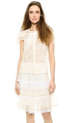 Nina Ricci Short Sleeve Blouse