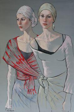Katya Gridneva [Катя Гриднева] 1965 | Ukrainian Figurative painter