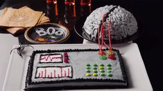 Do you have a mad scientist on your hands? Our Mad Scientist Birthday Cake is the perfect birthday party experiment.