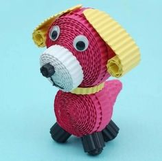 3D Quilling – Small Dog