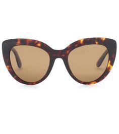 fd3879137a82b Cat-eye sunglasses. Concha De TartarugaÓculos De Sol ...