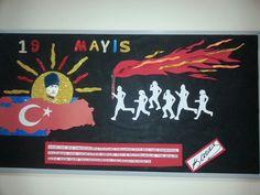 Sirus Koleji 19 Mayıs panosu Sosyal bilgiler