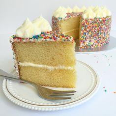 Funfetti Sprinkles Birthday Cake