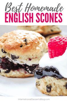 English Desserts, British Desserts, English Food, British Recipes, British Dishes, Welsh Recipes, Tea Recipes, Baking Recipes, English Recipes