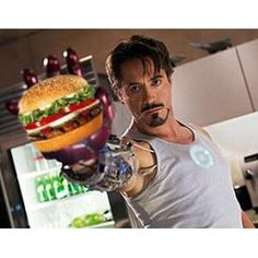 Robert Downey Jr. claims Burger King saved his life from his drug addiction!
