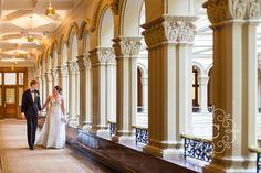 Landmark Center Wedding Photo | Minneapolis Wedding Photographer Carina Photographics