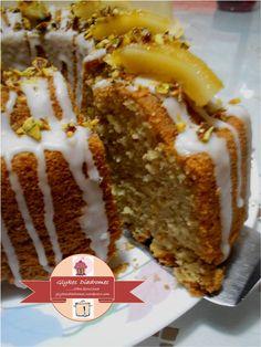Lemon Glaze Cake, Pistachio, Caramel, French Toast, Recipies, Greek, Food And Drink, Sweets, Vegan