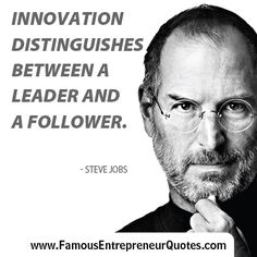 steve jobs the great innovator Apple has lost a visionary and creative genius, and the world has lost an amazing human being those of us who have been fortunate enough to know and work with steve.