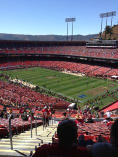 Candlestick Park-Home of the 5 time Super Bowl Champs San Francisco Forty Niners