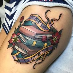 Book tattoo. Good co