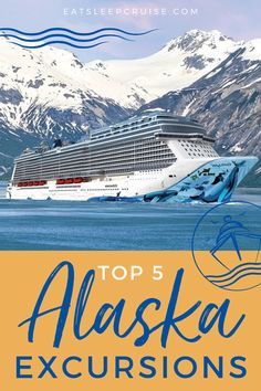 Best Alaska Cruise Excursions | If you're dreaming of visiting Alaska, a cruise vacation is a great way to do it on a budget. You see the highlights, like Juneau, Skagway, Ketchikan and more, and with excursions, you can see the wild side too. Whether you take a Princess cruise, a Disney cruise or any major cruise line, check out our post for the 5 best Alaska excursions and start planning your bucket list vacation now! #Alaska #AlaskaVacation #AlaskanCruise #CruiseVacation #CruiseExcursions