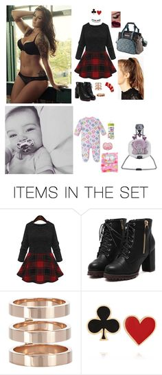 """""""Ootn; they're letting Rhya stay with me for a week, just so she could get used to living with me, then tomorrow I go to court and she'll officially be mine *squeals* -Ivory"""" by candyapplezzz ❤ liked on Polyvore featuring art"""