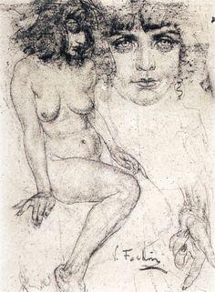 Francis Vallejo   inspiration: nicolai fechin b.1881-1955