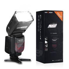 Neewer TT560 Flash Speedlite for Canon Nikon Sony Panasonic Olympus Fujifilm Pentax Sigma Minolta Leica and Other SLR Digital SLR Film SLR Cameras and Digital Cameras with single-contact Hot Shoe