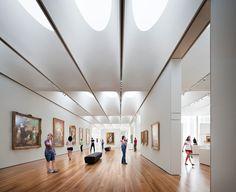 Ceiling North Carolina Museum of Art / Thomas Phifer