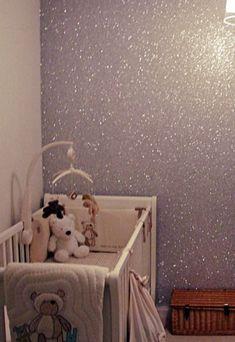 glitterverf-muur