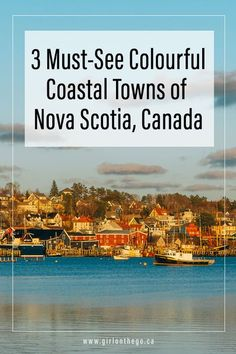 Three Must-See Colourful Coastal Towns of Nova Scotia – Girl on the Go – Best Travel images in 2019 Ottawa, East Coast Travel, East Coast Road Trip, Banff, Places To Travel, Places To Go, Travel Destinations, Rv Travel, Vacation Places